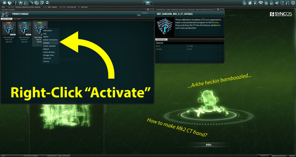 Step 1: Right-click Activate